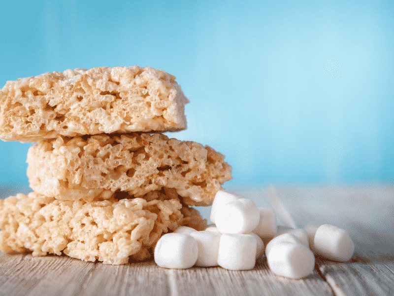 rice crispy cannabis treats