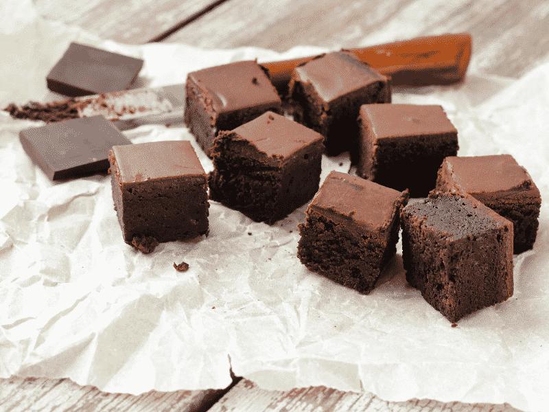 vegan cannabis brownie